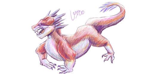 Colored dragon