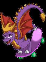 Spyro the dragon by RenWolf44