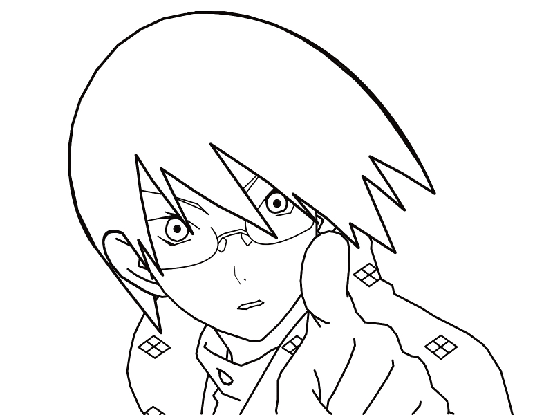 Drawing Smooth Lines In Gimp : Itoshiki nozomu line art by swordslayer on deviantart