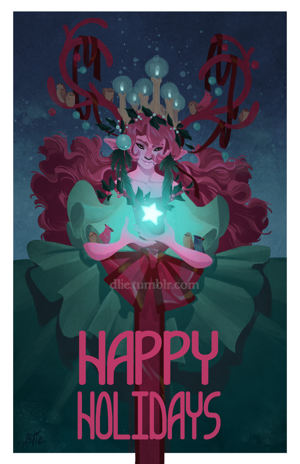 Happy Holidays by Dlie