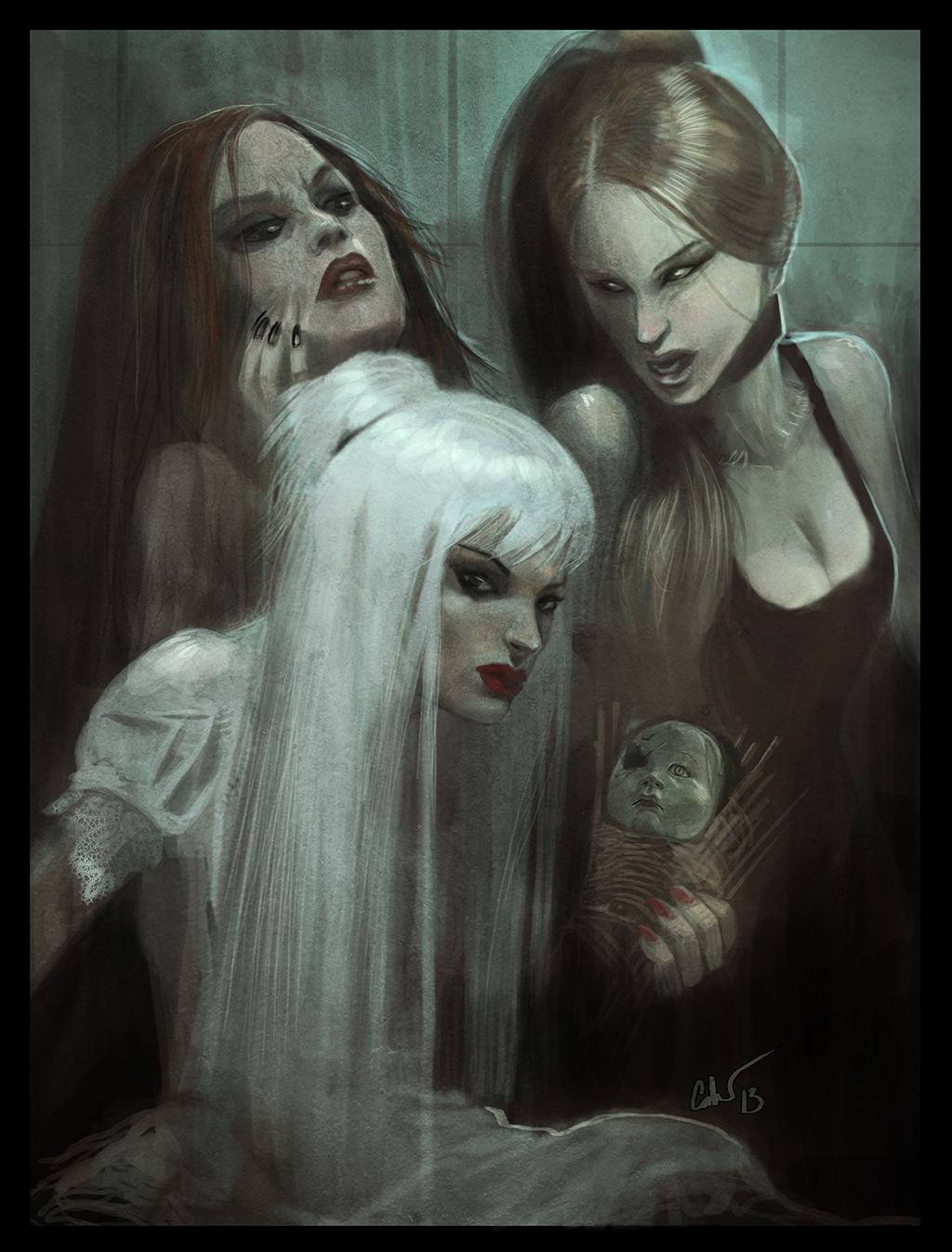 gothic succession of witches by spectraljin on deviantart
