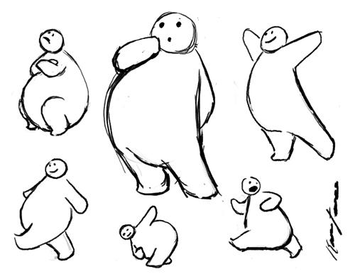 Doodle Guy by K-B-Jones