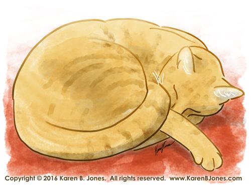 Sleeping Tiger by K-B-Jones