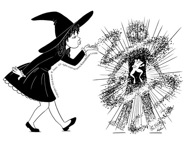 Sorceress casting spell consider