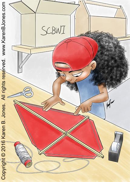 Building A Kite by K-B-Jones