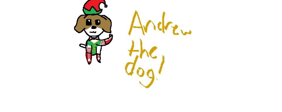 Andrew The Dog by Mint-Apples