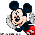Mickey Mouse Pixel by xPaintedPerfection
