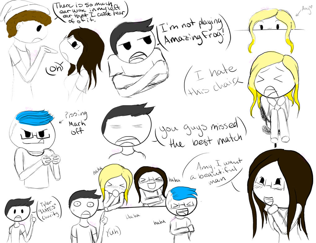Sketches- Fav Moments of Markiplier Charity Stream by Known4evr
