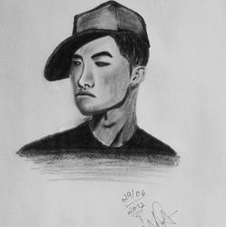 Tae Yang Drawing by DanyMiron