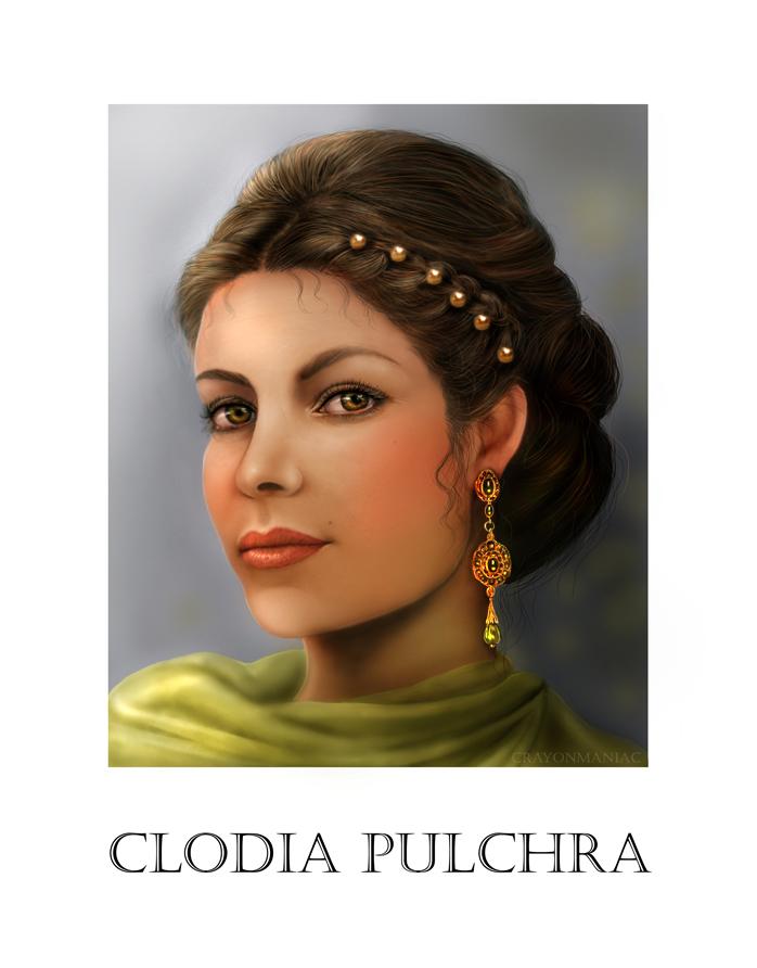 clodia Pulchra by crayonmaniac