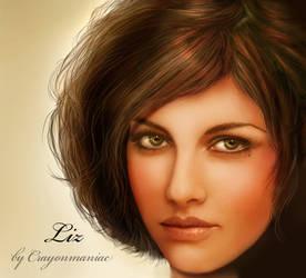 Liz by crayonmaniac