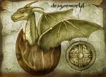 Dragon world - birth of the new dragon