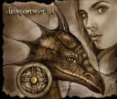 Dragonworld - the eye of the dragon by crayonmaniac
