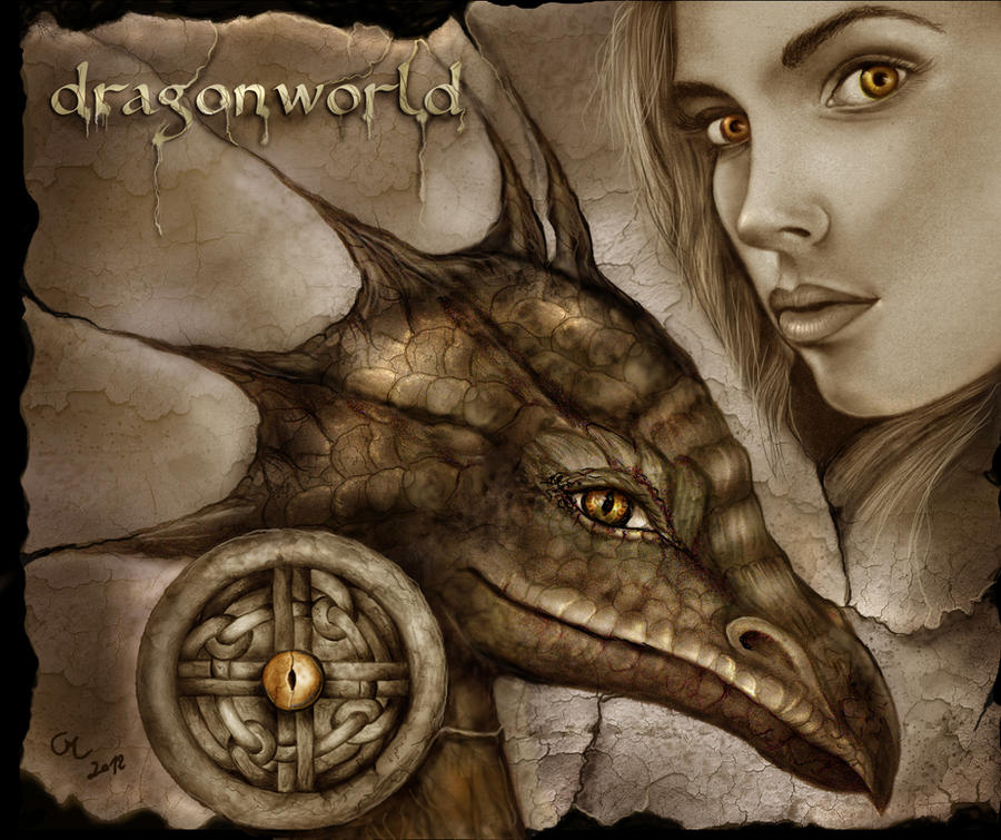 Dragonworld - the eye of the dragon by crayonmaniac