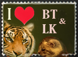 BT and LK stamp by crayonmaniac