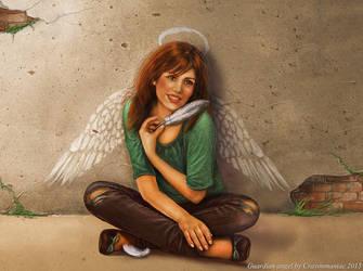 Guardian Angel by crayonmaniac