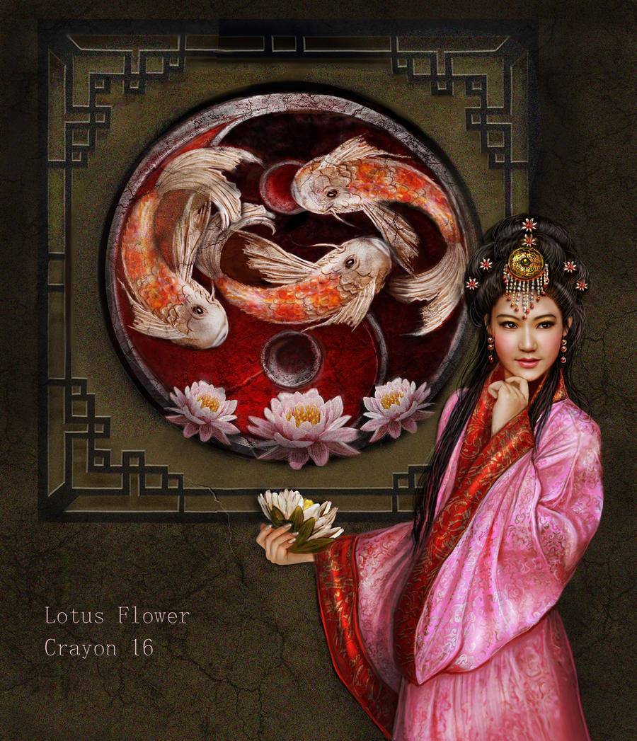 Lotus Flower by crayonmaniac