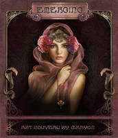 Art Nouveau series 2 - Emerge from darkness