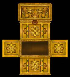 Jade emperor - 3D chest by crayonmaniac
