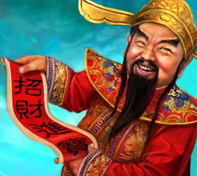 Jade Emperor - Cai Shen by crayonmaniac