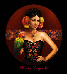 world beauties 10 Mexico by crayonmaniac