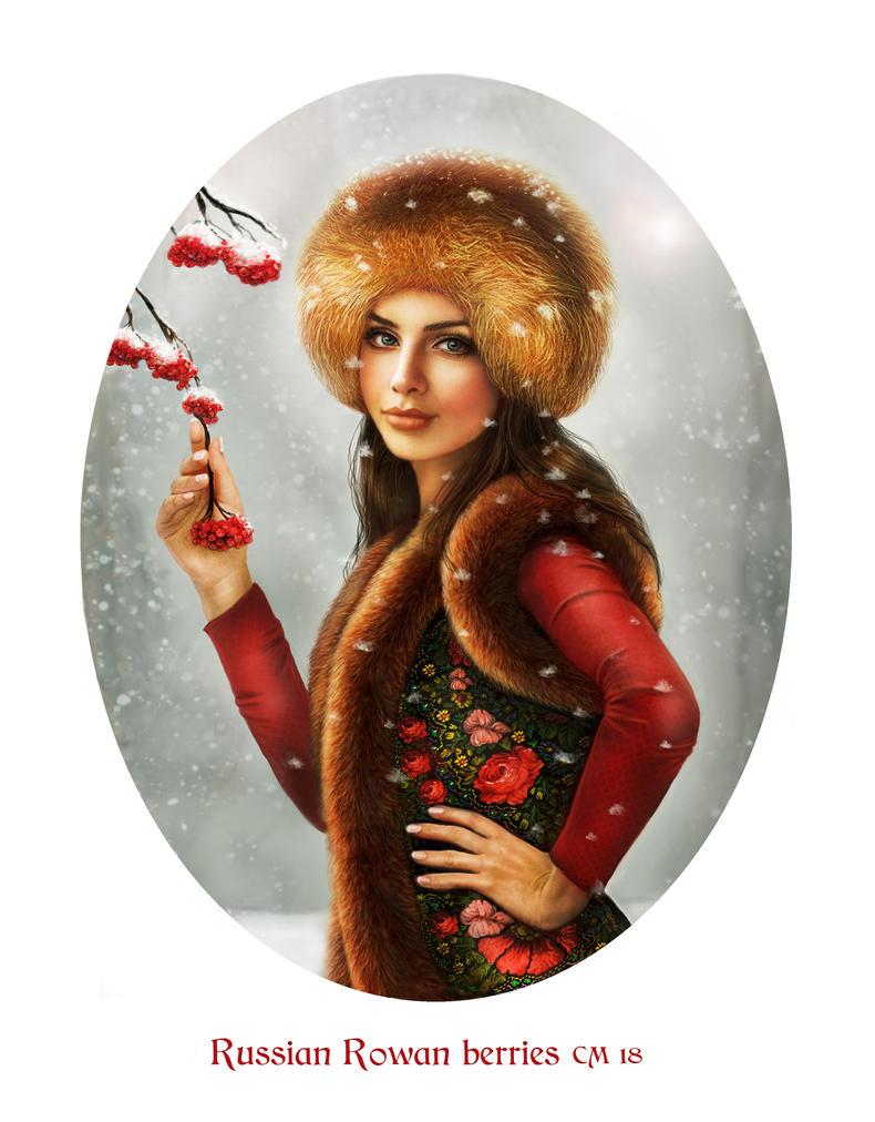 World beauties 11 - Russian Rowan by crayonmaniac