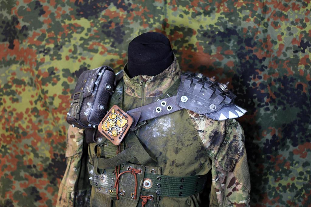 Postapocalyptic gear by dhomochevsky-art