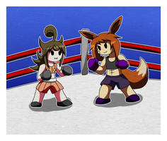 Kimpu V Hardi: The rematch by MetaDoodles