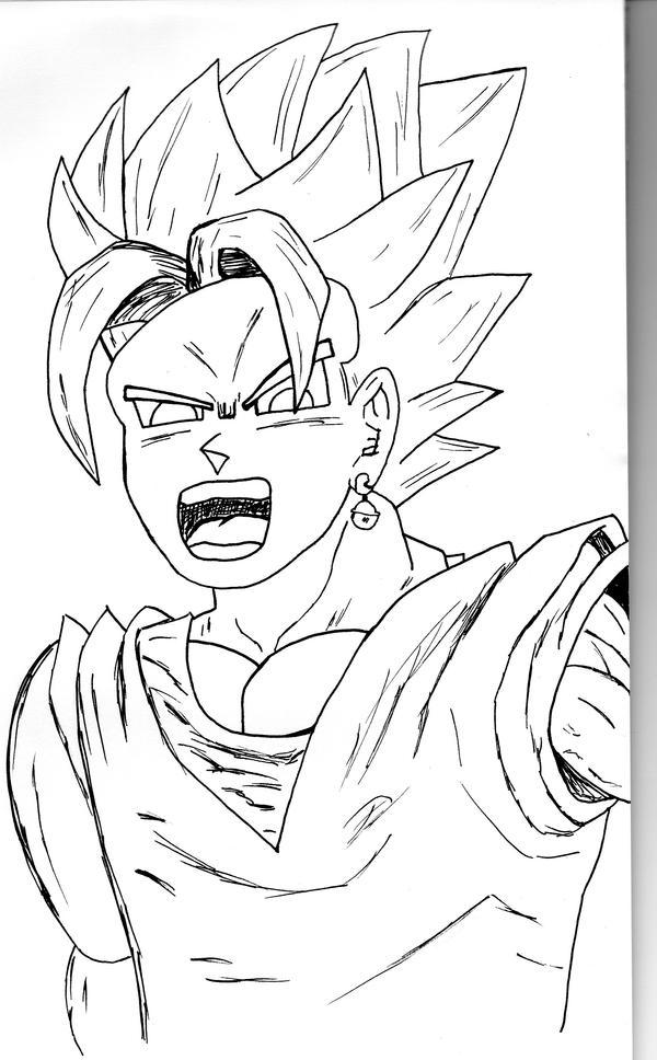 Manga Drawing  Dragon Ball Z By Jfddjf54 On DeviantArt