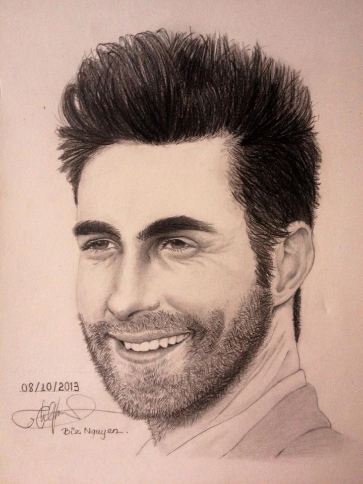 Adam Levine - Maroon 5 by biznguyen0210