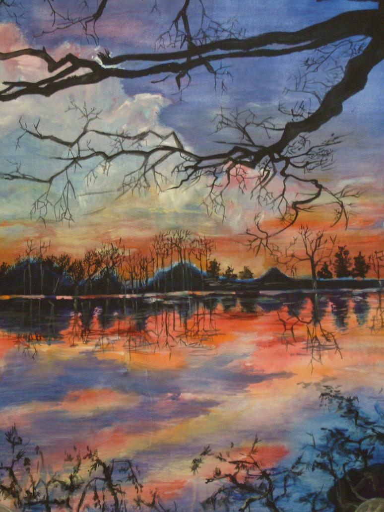 Sunset2 by great-queen-morrigan