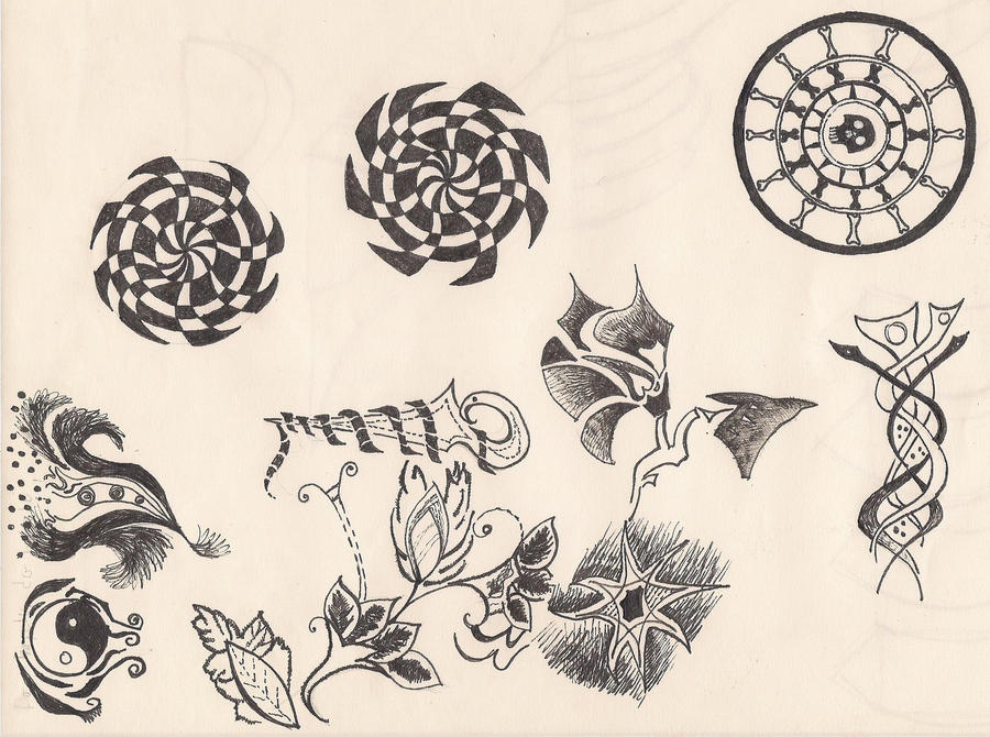 ornaments for tattoo by great queen morrigan on deviantart. Black Bedroom Furniture Sets. Home Design Ideas