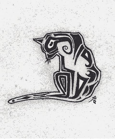 Cat Tattoo by great-queen-morrigan