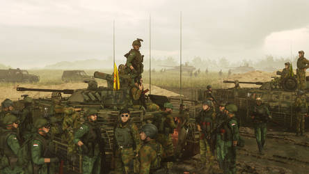 TPAVL Mechanized Infantry Training