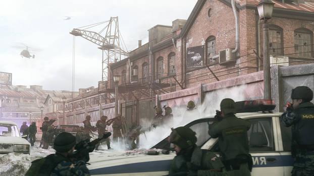 Tchvonian Police Raid 1080p