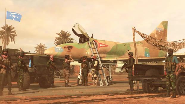 Kaapo Super Saber Vulture Squadron