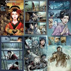 Samurai's Blood #3 by saktiisback