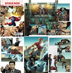 Ultimate Spiderman #150 by saktiisback