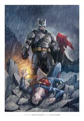 Batman Vs Superman by saktiisback