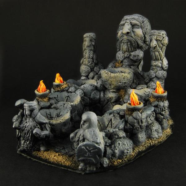 Dwarven Stone Dice Altar by RistulsMarket