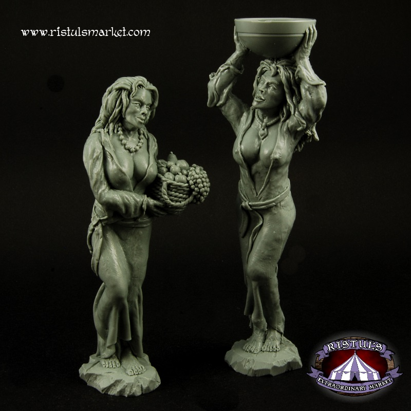 Women Statues Terrains by RistulsMarket