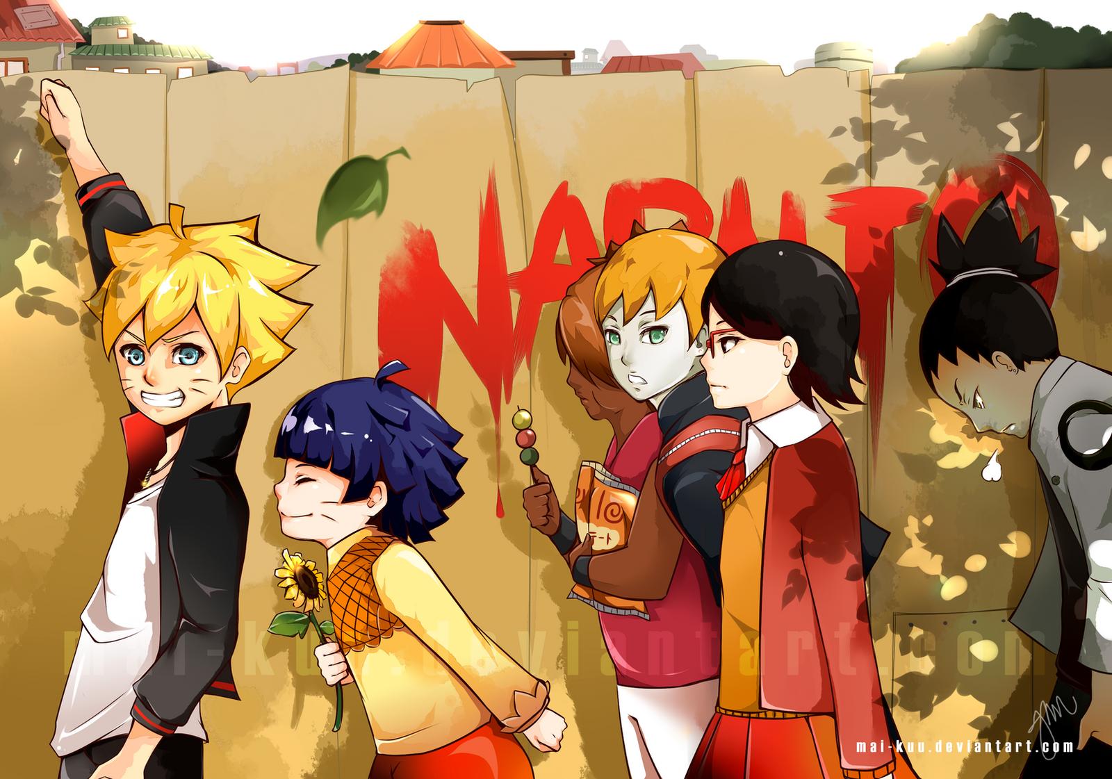 ... Naruto Next Generation by mai-kuu