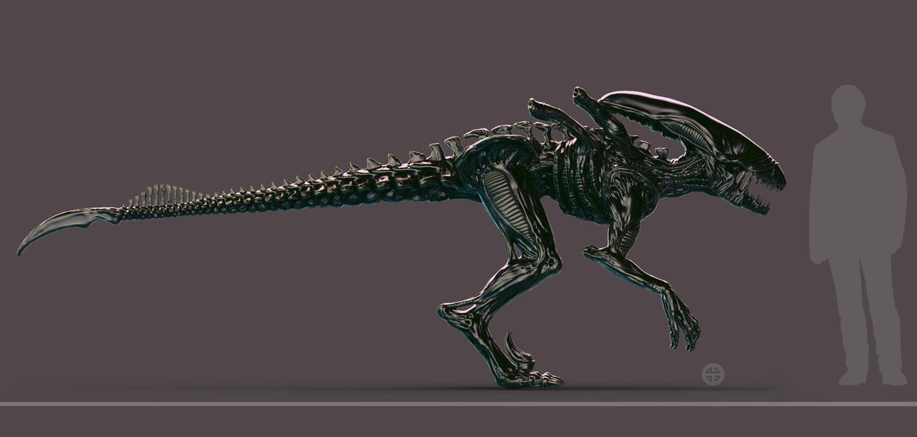 Xeno-Raptor by HereticTemplar on DeviantArt