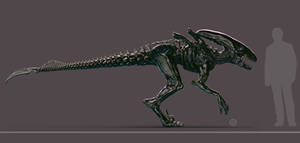 Xeno-Raptor by HereticTemplar