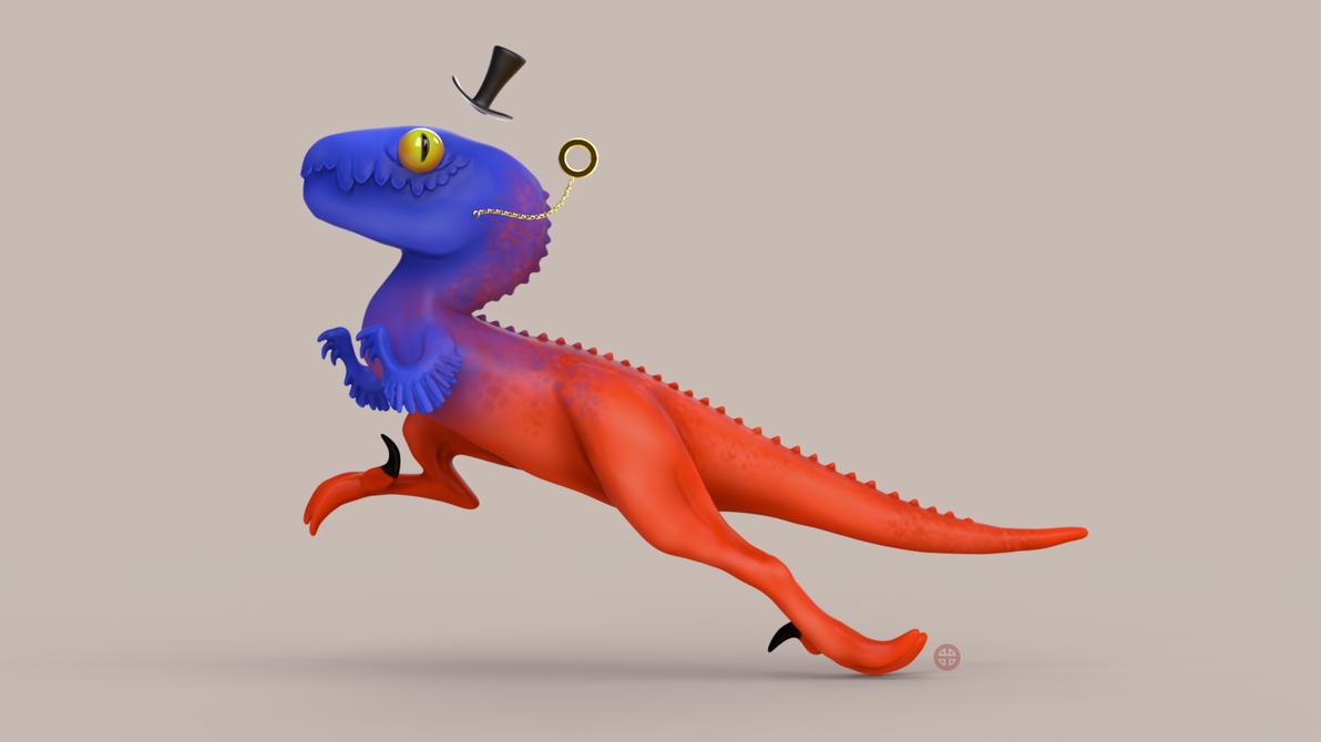 Raff The Raptor by HereticTemplar