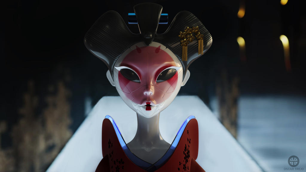 RoboGeisha by HereticTemplar