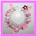Hello kitty bracelet pink