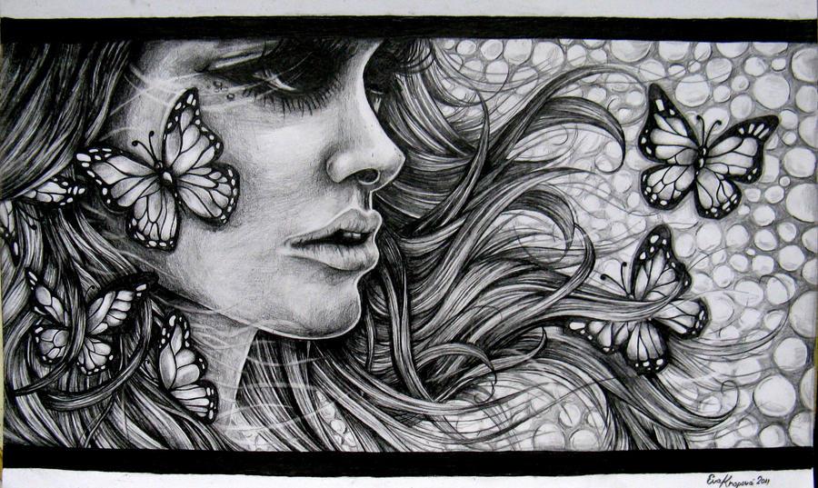 Butterflies. by Ejvy