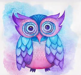 Owl. by Ejvy
