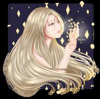 [SSTLC OC] She is light of stars by AltheaDeLeo